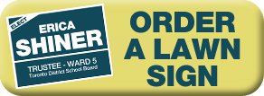 Deliver a lawn sign!