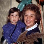 Little Erica Shiner, with her grandmother, the Late Esther Shiner